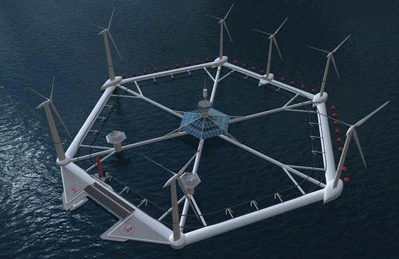 Malta to Get State-of-the-Art Floating Wind Farm from Hexicon
