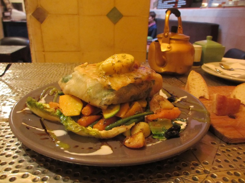 Marrakech's Organic Vegan/Vegetarian Earth Cafe a Delicious Alternative to Lamb Testicles