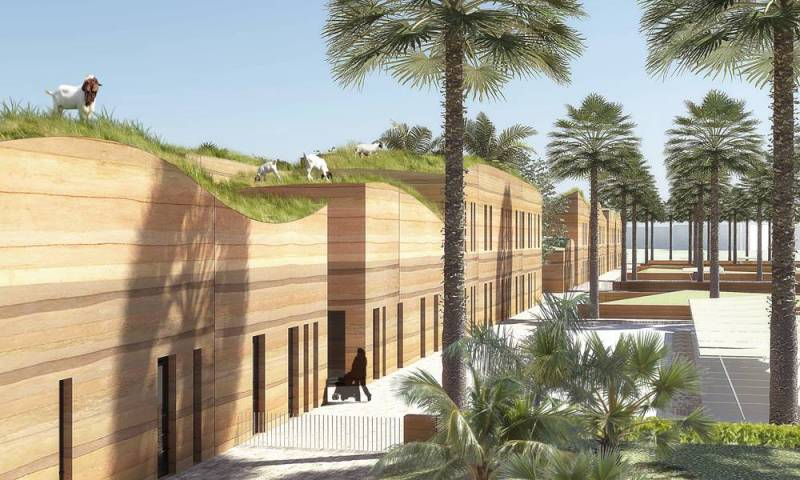 New Green Roofed School in Kuwait Will Promote Hands on Agricultural Learning