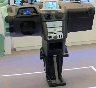 Objet Geometrics 3D Prints Electric Car Dashboard