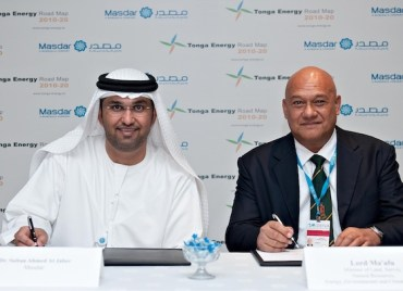 Now Masdar Brings Solar Power to Tonga
