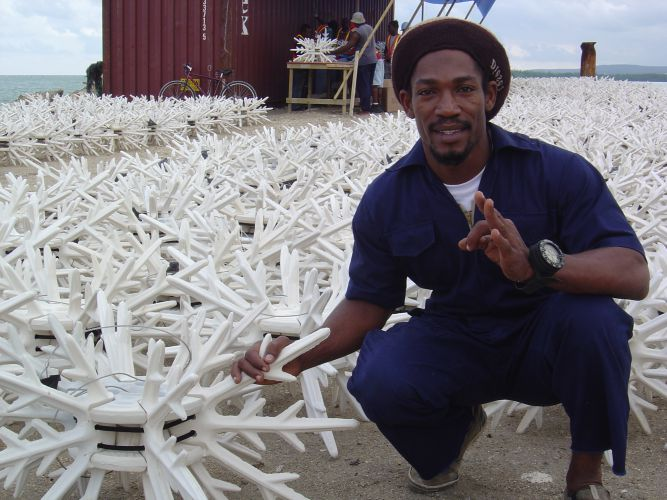 EcoReef Antlers For Coral Reef Restoration