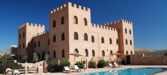 Morocco's Atlas Kasbah Eco-Lodge is 80% Solar-Powered
