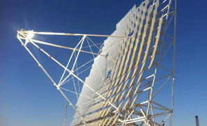 Heliofocus Solar Technology Dish Unveiled in Israel