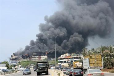 Lebanon Carpet Fire Causing More Atmospheric Pollution