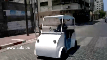 Gaza Taxi Driver Builds an Electric Vehicle in Three Days