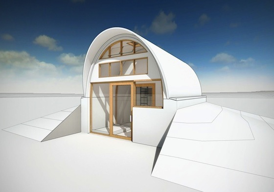 Hassan Fathy-Inspired Regenerative Home Planned for Buddhist Center