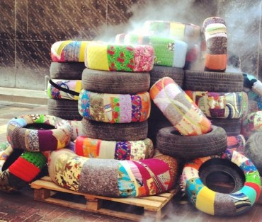 Burning Tires the Bokja Way – a Colorful Protest Against Beirut Pollution
