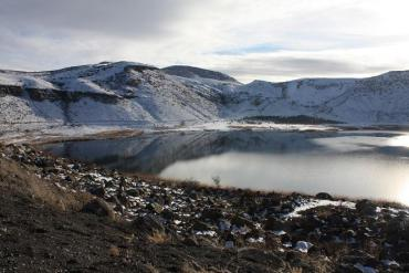 Plumbing the Mud in this Turkish Lake to Explain Climate Change