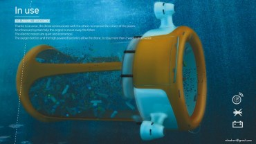 Marine Drones Wanted to Rid the Gulf Seas of Plastic