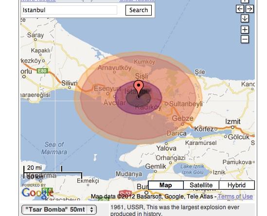 istanbul nuclear bomb