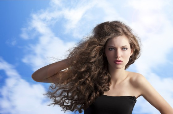 brazil hair model, beautiful