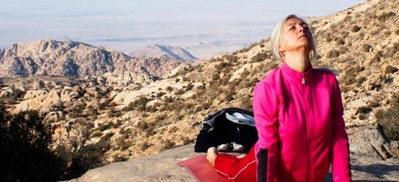 Yoga in Jordan's Spectacular Wild Outdoors