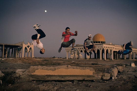 Gaza Parkour Take to the Streets