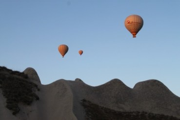 Hot Air Ballooning over Turkey's Cappadoccia