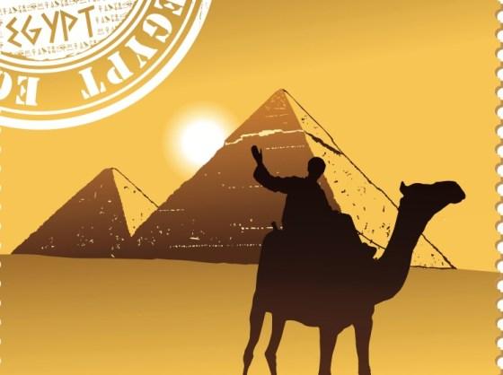 solar energy, egypt, camels, pyramids