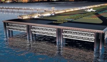 Tel Aviv Bids for Artificial Island International Airport At Sea