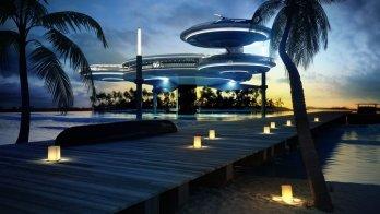 Gulf, Underwater Hotel, Discus Hotel, Deep Ocean Technology, Luxury, Hotel, Oman, UAE
