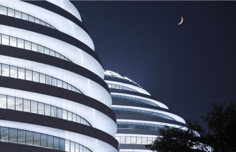 Zaha Hadid's Immense Galaxy SOHO Complex Takes LEED Silver