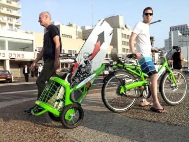 Clever Tel-O-Porter Bike Trailer Boosts Israel's Shared Bike Program