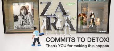 Zara Gives in to Greenpeace and Public Pressure