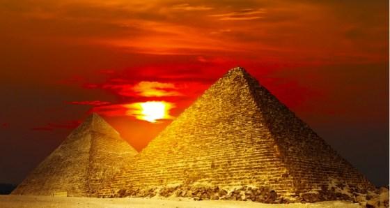 egypt-sun pyramids solar energy