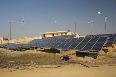 juwi Wind and Solar Plant in Egypt is Remote-Controlled from Germany