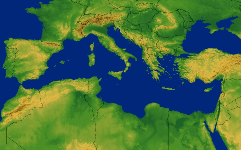 Mediterranean's Worst Eco-Debtor Not in the Middle East (Yet)