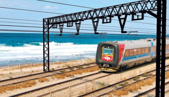 israel railways electric train