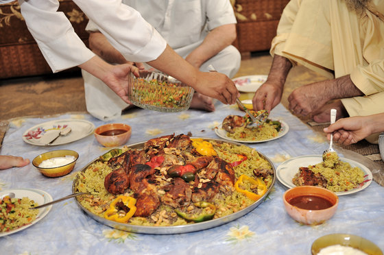 Eat Like A Sustainable Saudi Arabian: Chicken and Rice Kabsa RECIPE
