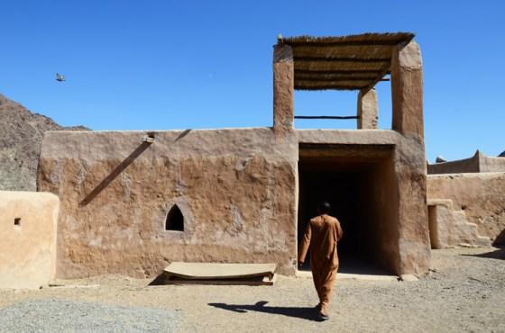 travel, nature, united arab emirates, al hayl fort, fujairah, earth architecture, green design