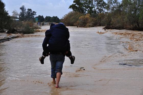 biblical flood, yarkon river, ayalon river, tel aviv, floods, winter storms, lake kinneret, sea of galilee, pollution, disaster preparedness