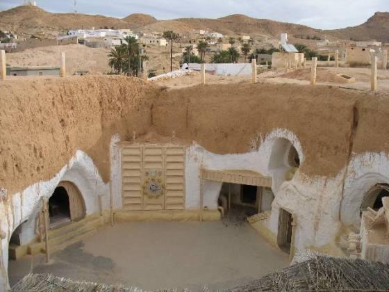 hotel sidi driss star wars film in tunisia
