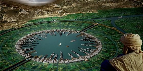 Hydropolis, Nile River, Agriculture, Architecture, Design, Egypt
