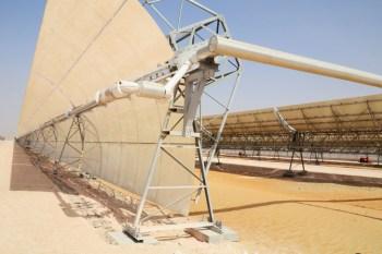 Shams 1 CSP Plant Abu Dhabi
