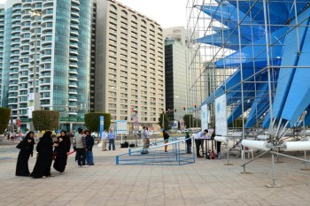 architecture, art, Wendy, HWKN, Abu Dhabi, Masdar, Abu Dhabi Sustainability Week, pollution, land art, green design