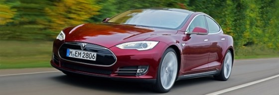 Tesla's Model S total electric