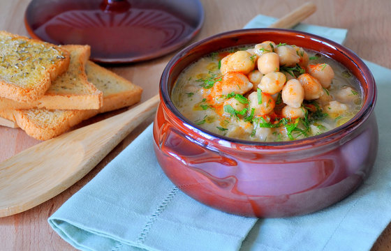 morocco chick pea soup slow food sustainable