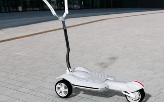 MUV-e folding electric trolley