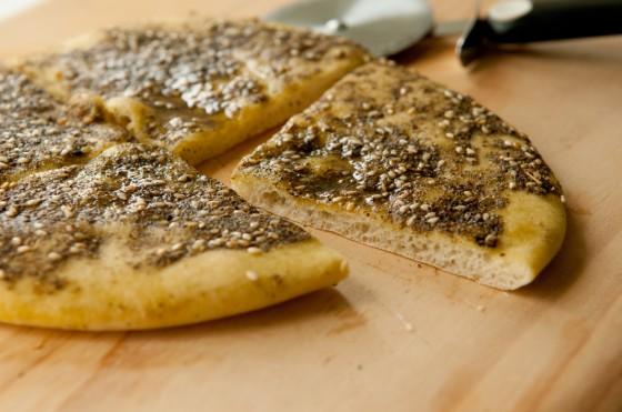zaatar pita bread