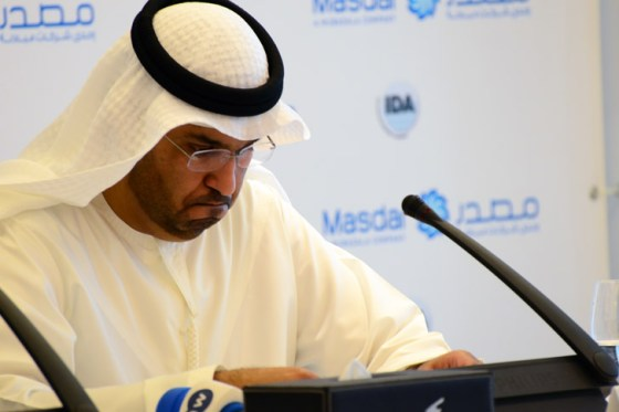 masdar, CEO, minister of state, Dr. Sultan Al Jaber, clean tech, renewable energy, Shams1, CSP, UAE, Abu Dhabi