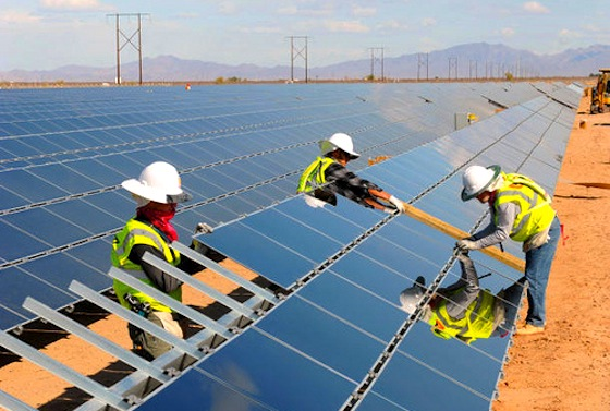First Solar, Dii, Desertec, clean tech, solar power, renewable energy, MENA, North Africa, Middle East