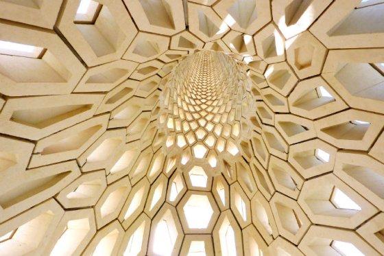 KAUST, Breakwater Beacon, Mashrabiya, Lighthouse, Red Sea, honeycomb, Saudi Mariners, natural cooling, design