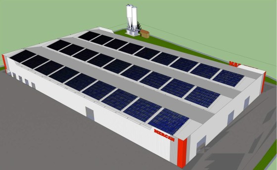 Mercan Mermer, Turkey, Photovoltaic, Solar, clean tech, renewable energy, alternative energy, clean energy, Solimpeks, Middle East