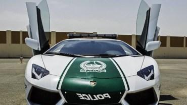Dubai Unveils $500,000 Lamborghini Cop Car