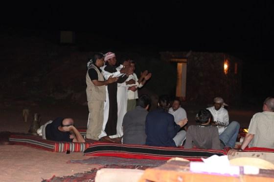 Campfire Music Jordan Red Desert wadi rum