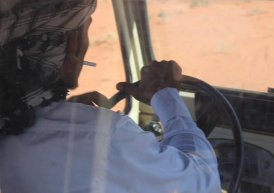 Desert Driver Jordan Red Desert wadi rum