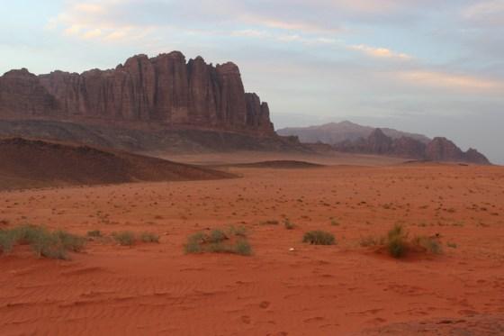 Jordan Red Desert wadi rum