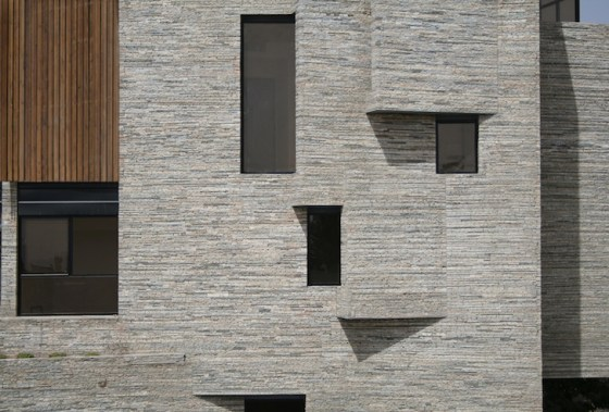 Mahallat Apartment, Iran, Aga Khan, recycled stone, natural materials, daylighting, natural ventilation, 2013 Architecture Awards, sustainable design, green design