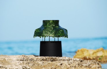 Nir Meiri's Marine Light is a Sustainable Seaweed Lamp You Can Eat